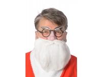 Jõuluvana mask habe+prillid+nina