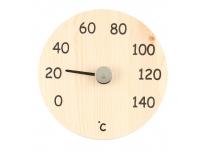 Saunatermomeeter 15cm ümmargune puidust