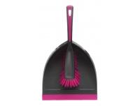 Hari+kühvel Saima kummirandiga roosa