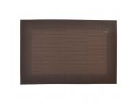 Lauaplate Hampton 45x30cm PVC pruun