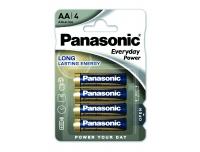 Patarei Panasonic AA LR6EPS 4tk
