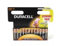 Patarei Duracell AAA 12tk1,5V alka Eco