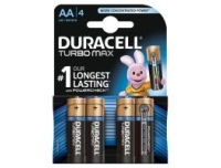 Patarei Duracell AA 4tk Turbomax 1,5V