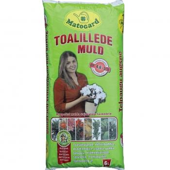 Toalillede muld 6L pH4,6-5,5 Matogard