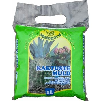 Kaktusemuld pH5,6-6,5 1L Matogard