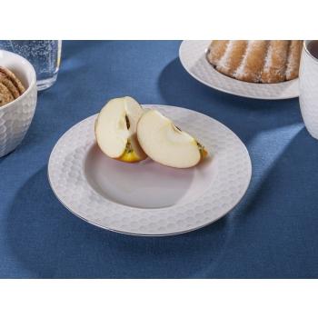 Desserttaldrik Meekärg 20cm, kuldne äär