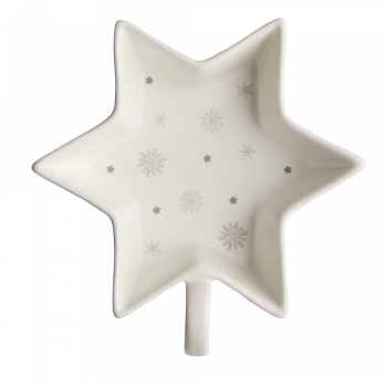 Kauss 12cm  tähekujuline Winter