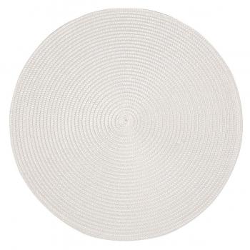 Lauamatt Altom 38cm ümmargune valge