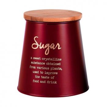 Säilituspurk suhkrule 10,5x14cm punane