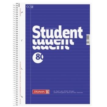 Spiraalkaustik Student A4 80 lehte joon