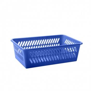 Plastkorv mini-mini 14x24x8cm sinine