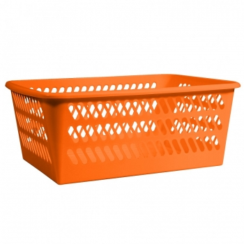 Plastkorv mini 24x34x14,5 oranž