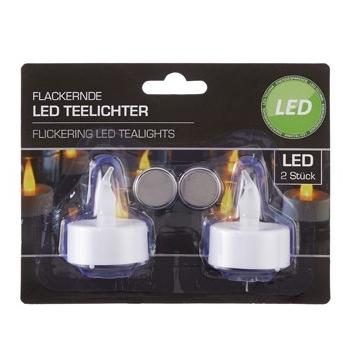 Teeküünlad LED 2tk