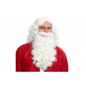 Jõuluvana habe+parukas 35cm