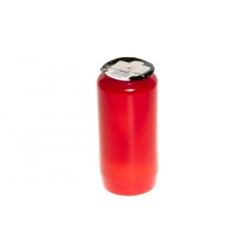 Õliküünal põl.aeg 96h punane