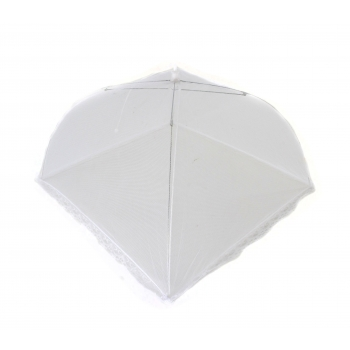 Kattevõrk toidule, 45x45cm, valge