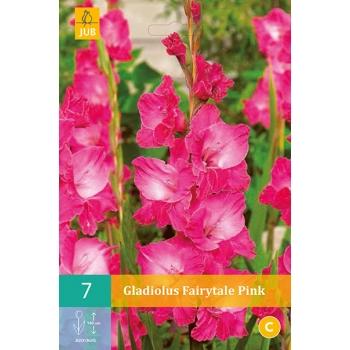 JUB Gladiool Fairitale Pink 7tk