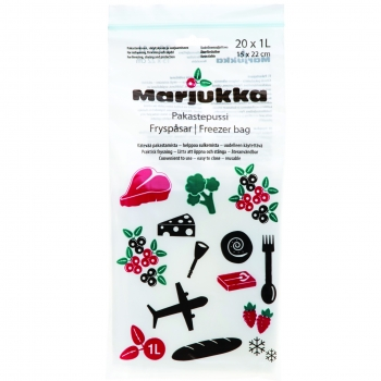 Külmutuskotid Marjukka 1L/20tk