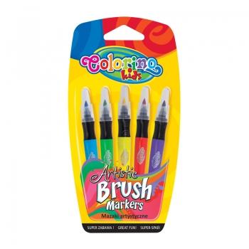 Viltpliiatsid ColorinoKidsBrush 5värvi
