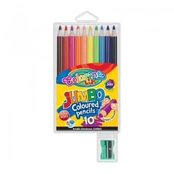 Värvipliiatsid ColorinoKidsJumbo 10värvi