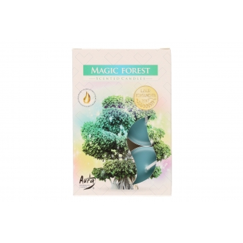 Lõhnateeküünlad 6tk põlemisaeg 3-4h