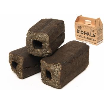 Biobrikett 3kg sobib grillimiseks