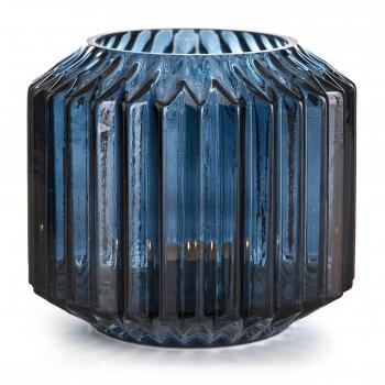 Küünlavaas Sinine 13cm klaas