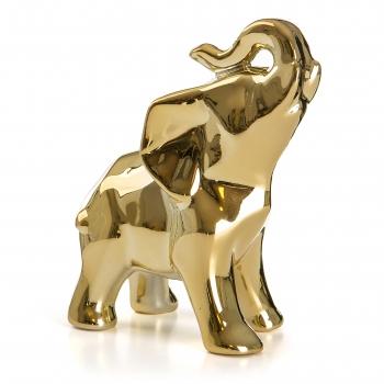 Dekoratiivelevant 14cm kuldne