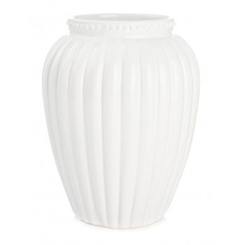 Vaas keraamiline 19cm valge