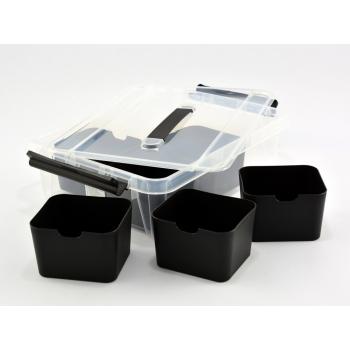 Plastkast kaanega 8L + 6 karpi Top Store