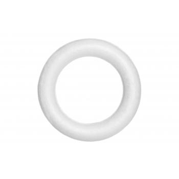 Käsitöötarvik ring 15cm valge