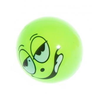 Kummipall Näod vilkuva LED tulega 5,3cm