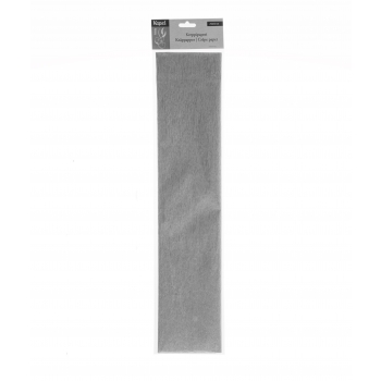 Krepp-paber 250x50cm hõbe