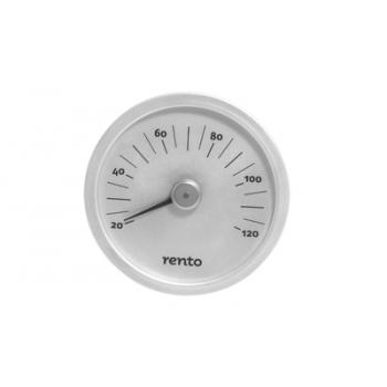 Saunatermomeeter Rento 15x2cm alumiinium