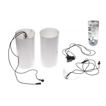 LED-jääküünla komplekt veekindel 3tk