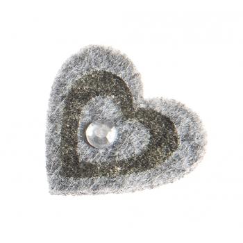 Käsitöötarvik 3,5cm vildist süda 12tk