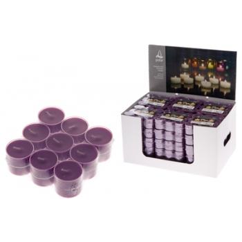 Teeküünlad plastümbrises 4h18tk violetne