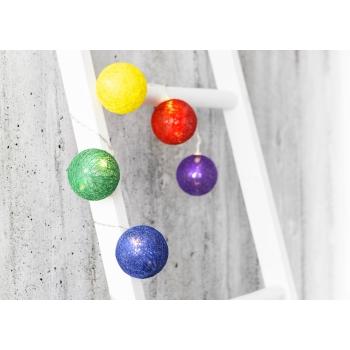 Elektriküünlad Lõngakera 24LED värviline