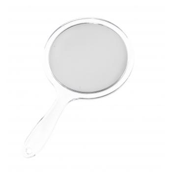 Peegel MINEAS käepidemega valge