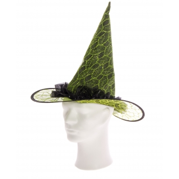 Nõiamüts sätendav roheline