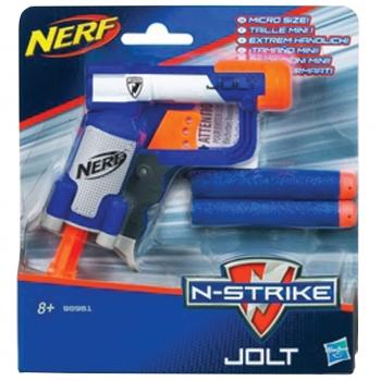 Mängupüstol Nerfn'Strike+2pehmet laengut