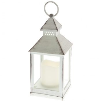 Küünlalatern LED küünlaga 10x10x23cm