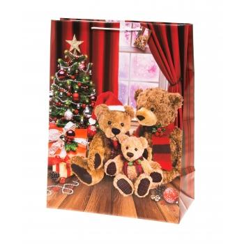 Kinkekott 40x56cm jõulukarud