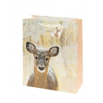 Kinkekott 18x23cm talvised loomad