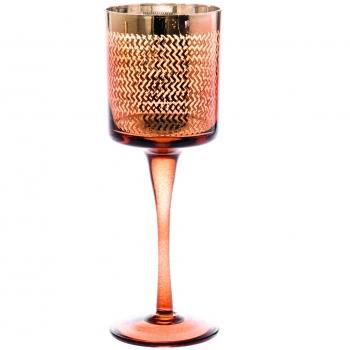 Küünlatops jalal klaas 9x9x25cm valik