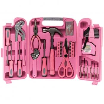 Tööriistakohver 149 osaline roosa, Xpert