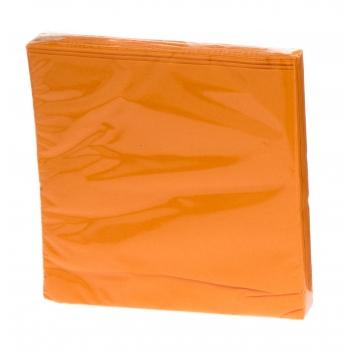 Salvrätik 33x33cm 20tk oranž