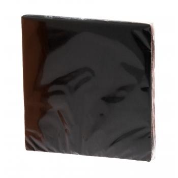 Salvrätik 33x33cm 20tk must