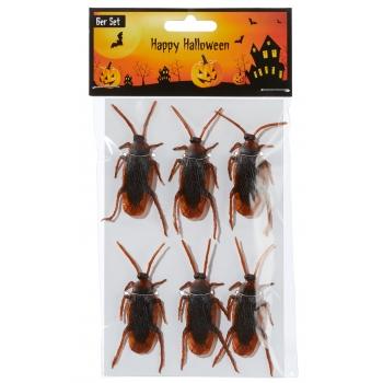Karnevalikaup Halloween prussakad 6tk