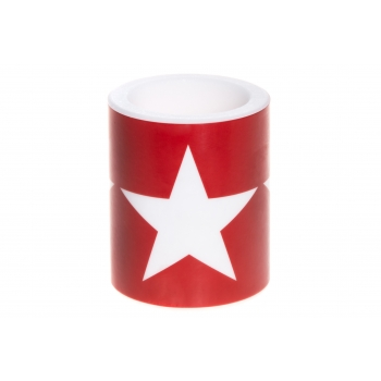 Lauaküünal Star 10x12cm 75h